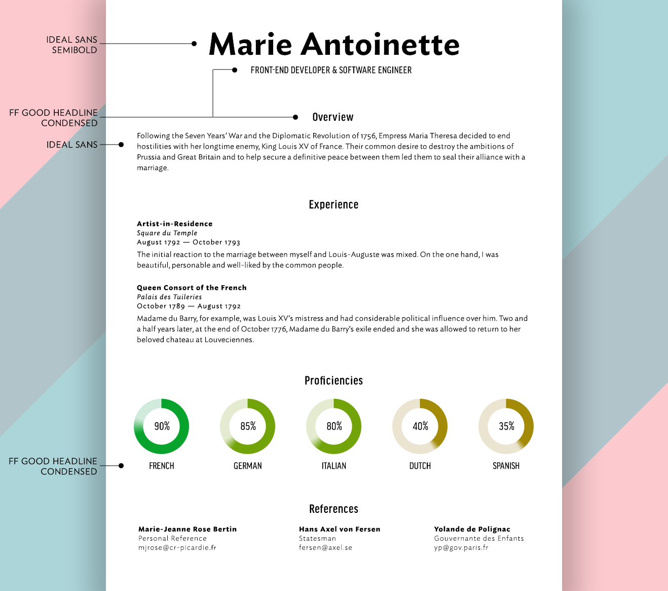 What Fonts Should I Use on My Résumé? - union.io
